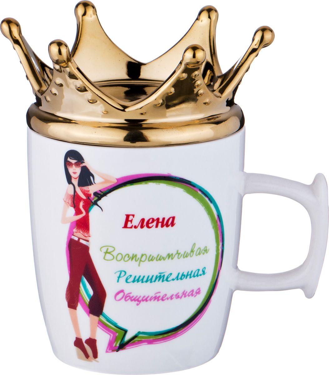 Кружка столовая Lefard Елена-королева, 383-686, мультиколор, 300 мл383-686КРУЖКА ЕЛЕНА-КОРОЛЕВА 300МЛ