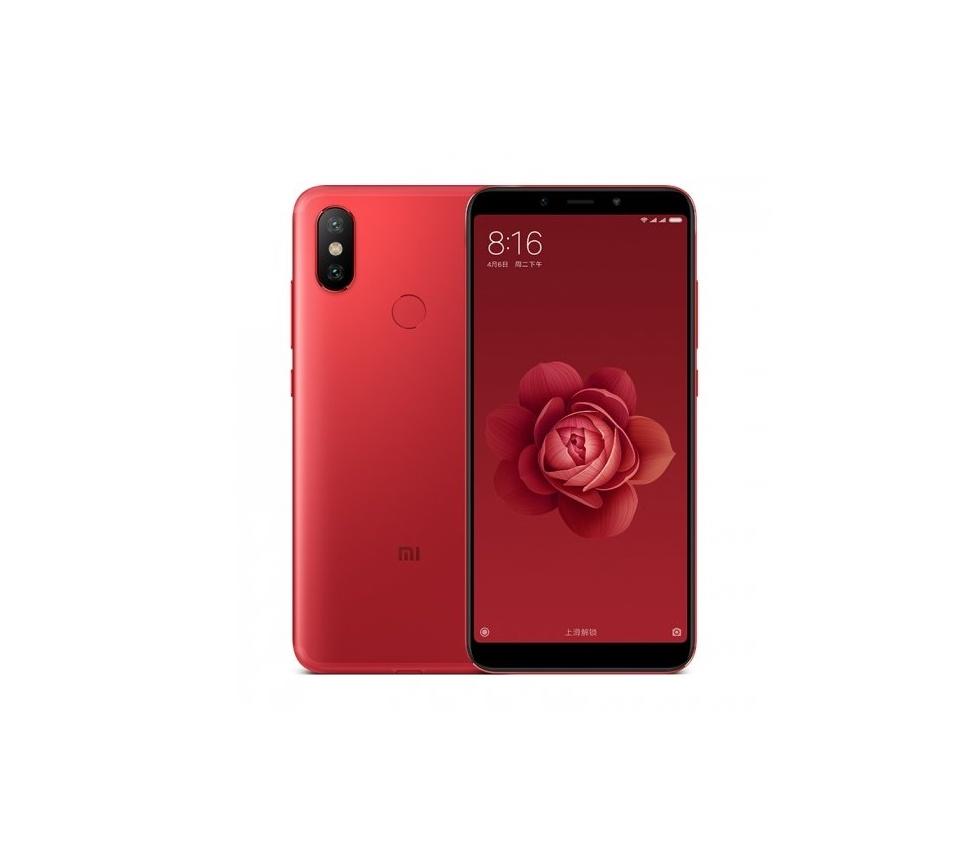 купить Смартфон Xiaomi Mi A2 4/64GB red по цене 13902 рублей