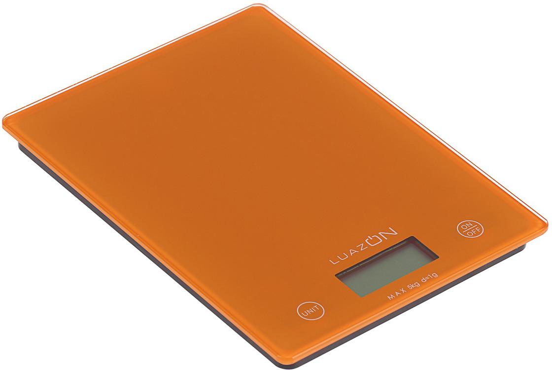 Кухонные весы Luazon Home LVK-702, оранжевый