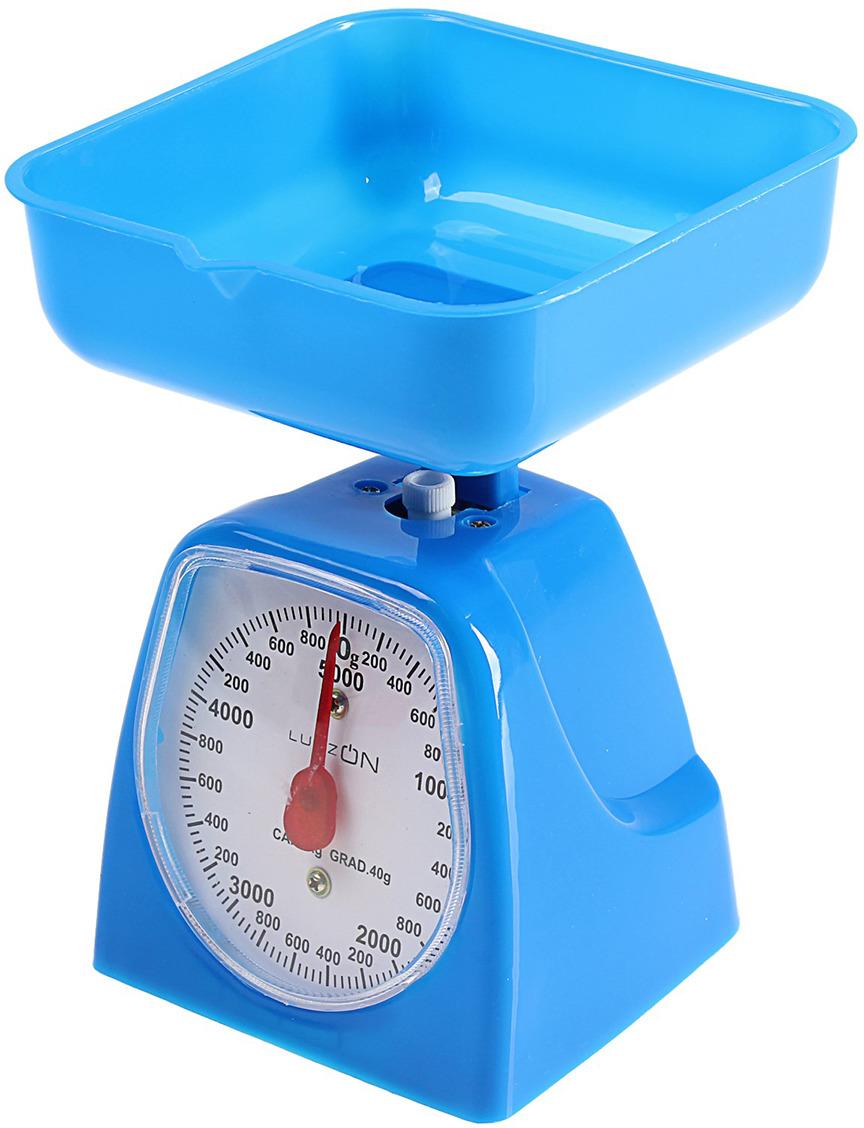 Кухонные весы Luazon Home LVKM-501, синий
