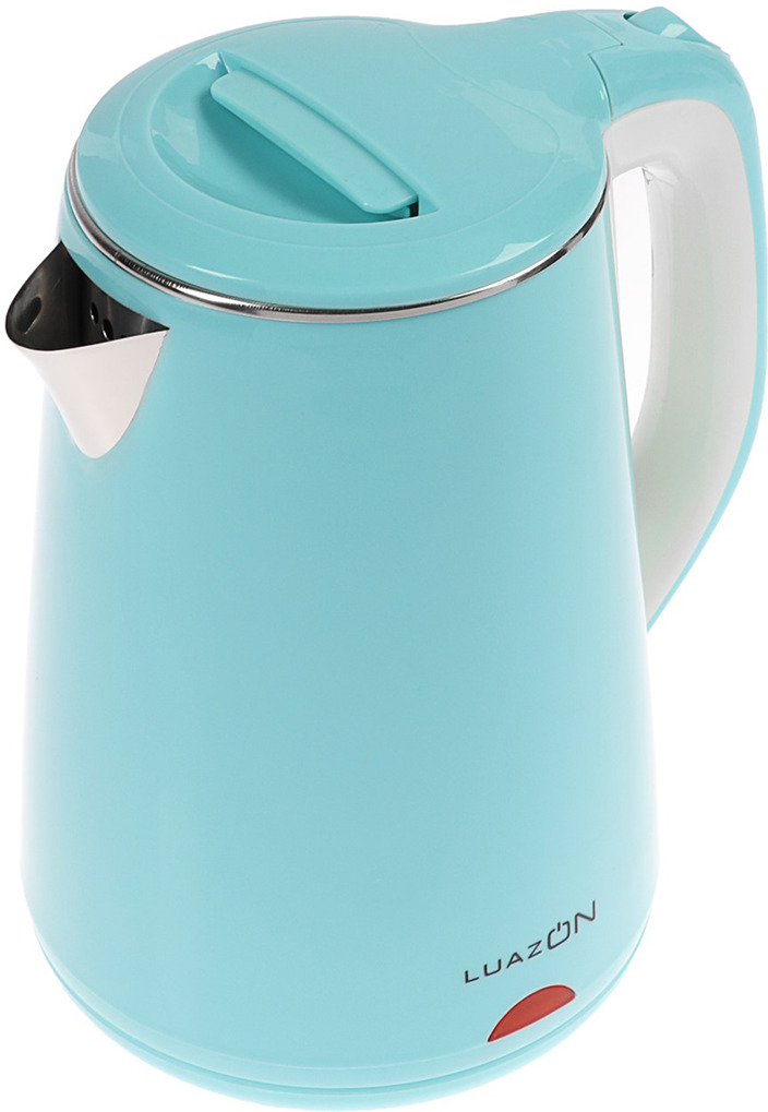 Электрический чайник Luazon Home LSK-1811, голубой