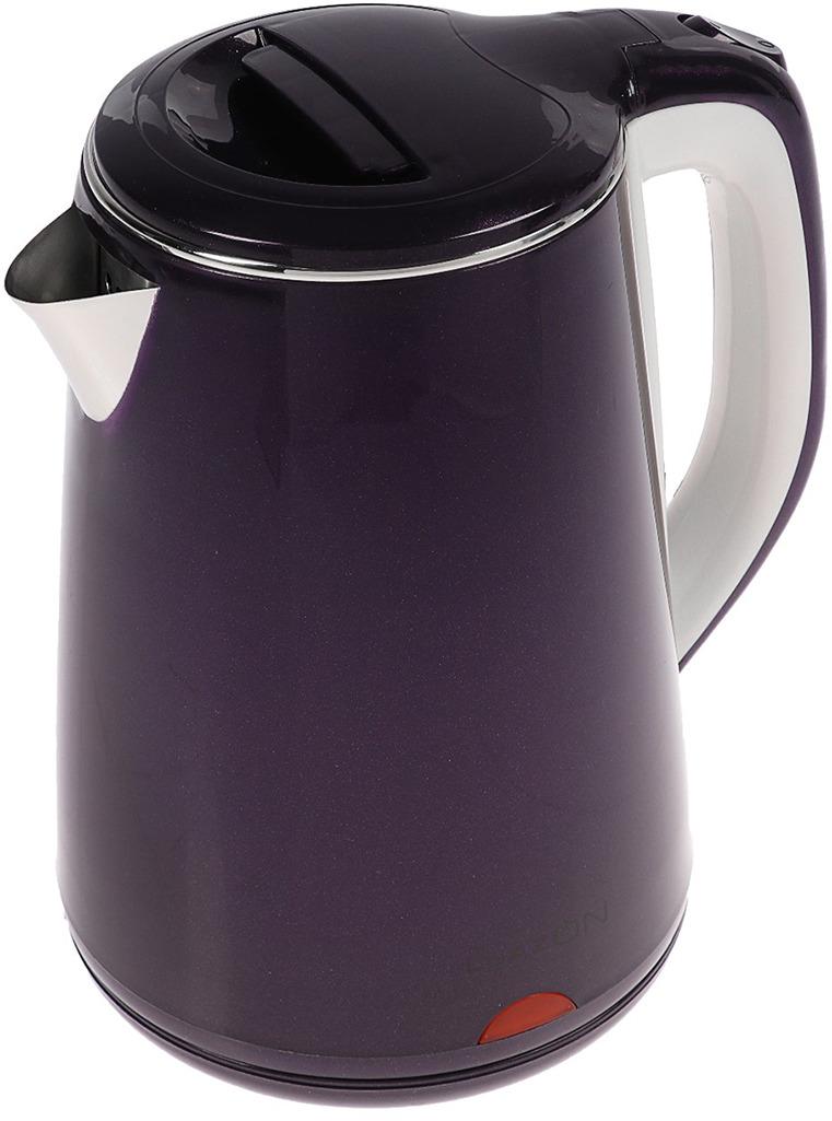 Электрический чайник Luazon Home LSK-1811, фиолетовый