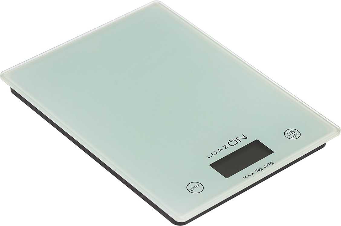 Кухонные весы Luazon Home LVK-702, белый