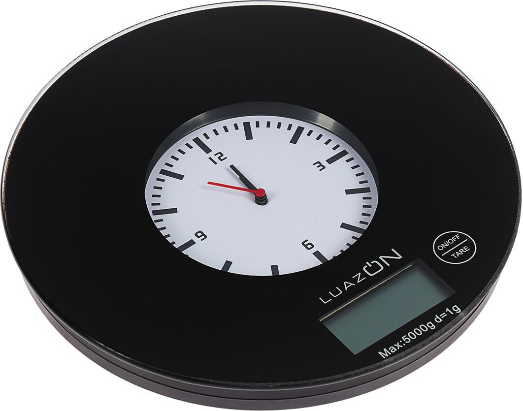 Кухонные весы Luazon Home LVK-703, черный
