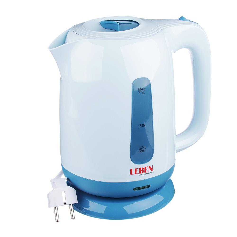 Электрический чайник Leben 475-156MG-447Электрочайник это один из самых популярных видов современных электрических бытовых приборов, который предназначен для подогрева воды. LEBEN предлагает богатый выбор чайников с разнообразного дизайна, разных цветовых исполнений и ценовых уровней.