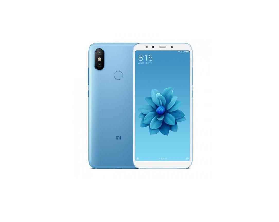Смартфон Xiaomi Mi A2 4/64GB blue смартфон xiaomi mi 8 lite 4 64gb aurora blue