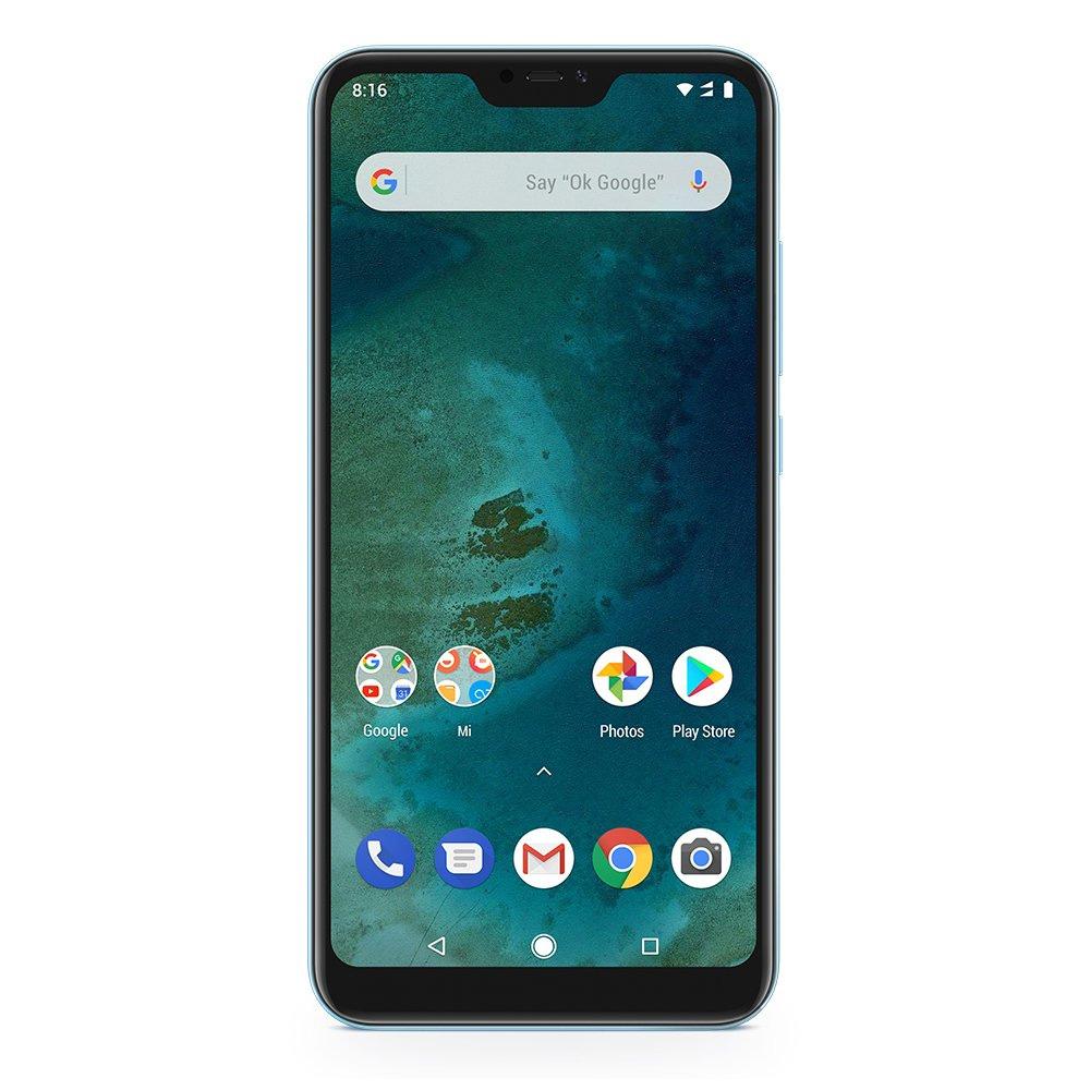 Смартфон Xiaomi Mi A2 Lite 4/64GB blue сотовый телефон xiaomi mi a2 4 64gb blue