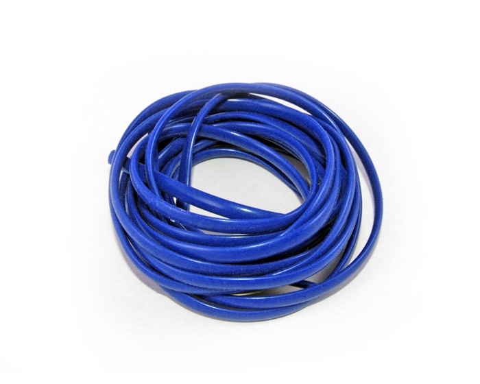 Шнурки Хорс Шнурок силиконовый синий 2*120см, синий шнурки markclub силиконовые для обуви shn 1909 синий