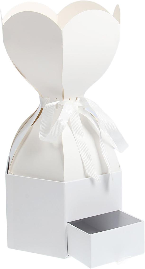Коробка для цветов, 2489213, 20 х 20 х 19 см