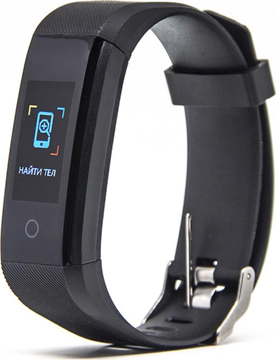 Фитнес-браслет Smarterra FitMaster 4, черный, зеленый умный браслет smarterra fitmaster pro black smft 01bk
