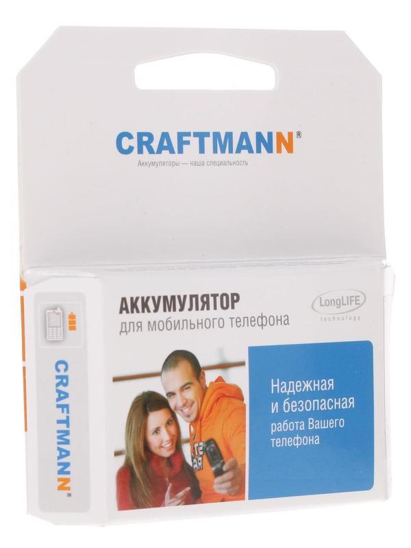 Аккумулятор для телефона Craftmann EB575152VU для Samsung GT-i9000 Galaxy S с увеличенной емкостью до 2500 мАч и крышкой черного цвета аккумулятор для телефона craftmann bl 53yh для lg d855 g3 с увеличенной ёмкостью до 5900 mah и крышкой чёрного цвета