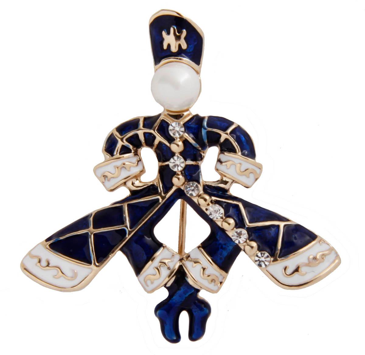 Брошь бижутерная брошь орел бижутерный сплав австрийские кристаллы жемчуг искусственный