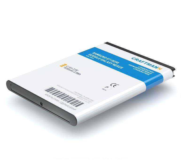 Аккумулятор для телефона Craftmann EB-L1F2HVU для Samsung GT-i9250 Google Galaxy Nexus внешний аккумулятор samsung eb pg930bbrgru 5100mah черный