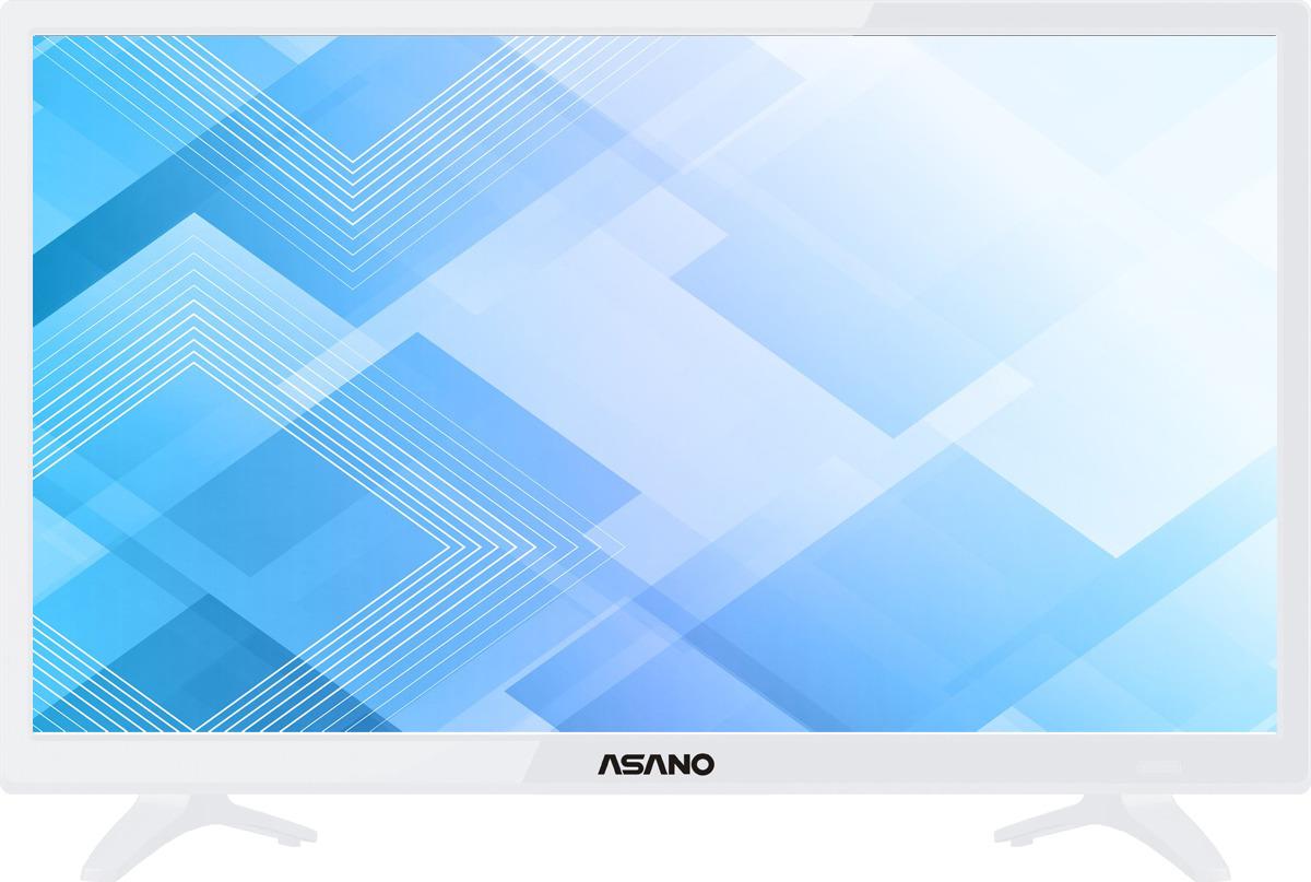 """Телевизор Asano 24LH7011T 23,6"""", белый"""
