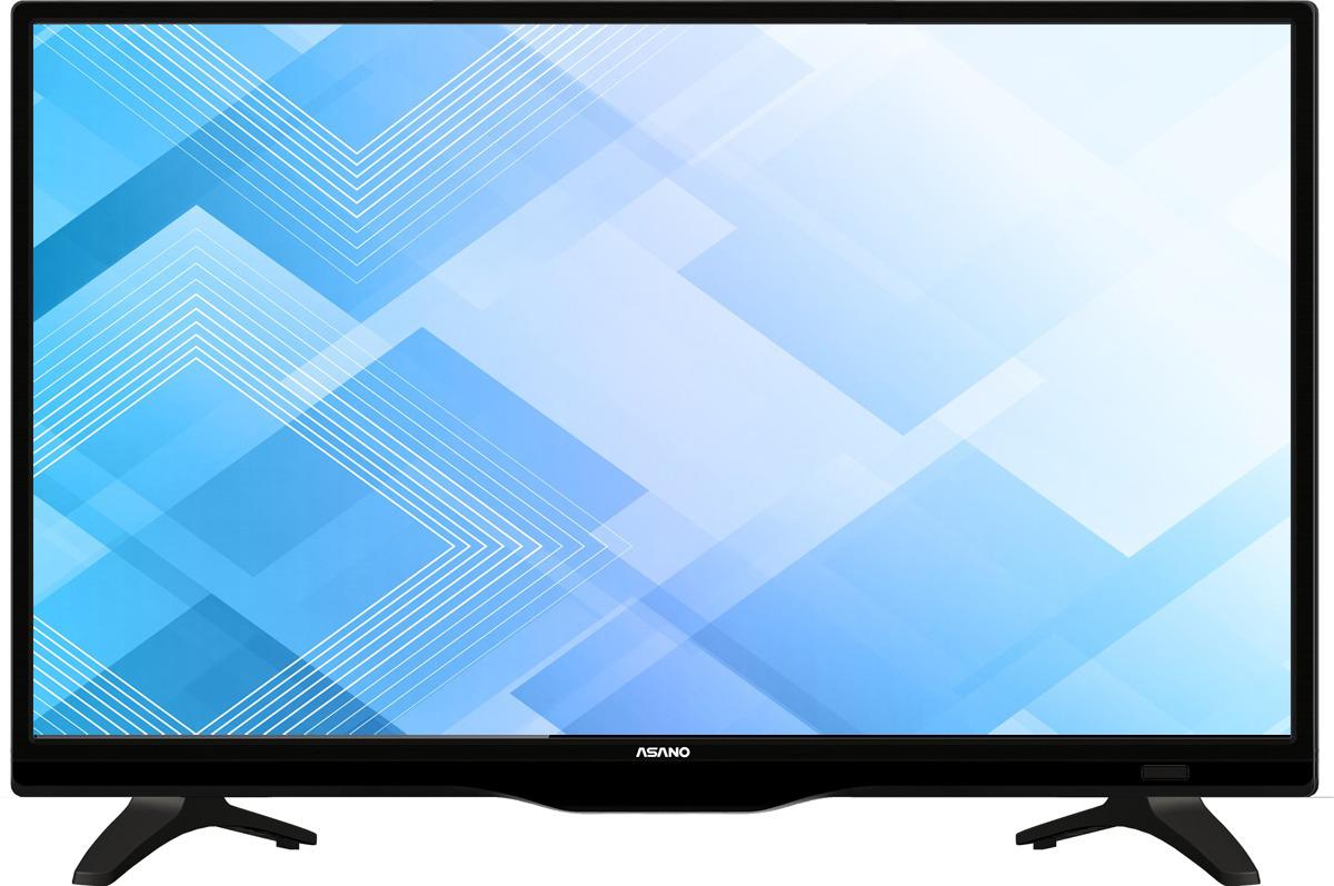 """Телевизор Asano 24LH7020T 23,6"""", черный"""