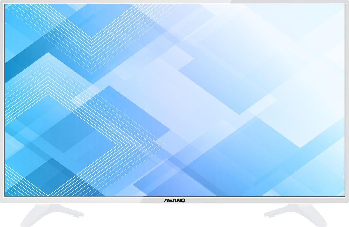 """Телевизор Asano 32LH1011T 31,5"""", белый"""
