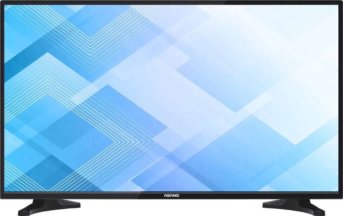 Телевизор Asano 43LU8010T 42,5, черный телевизор 4к что это