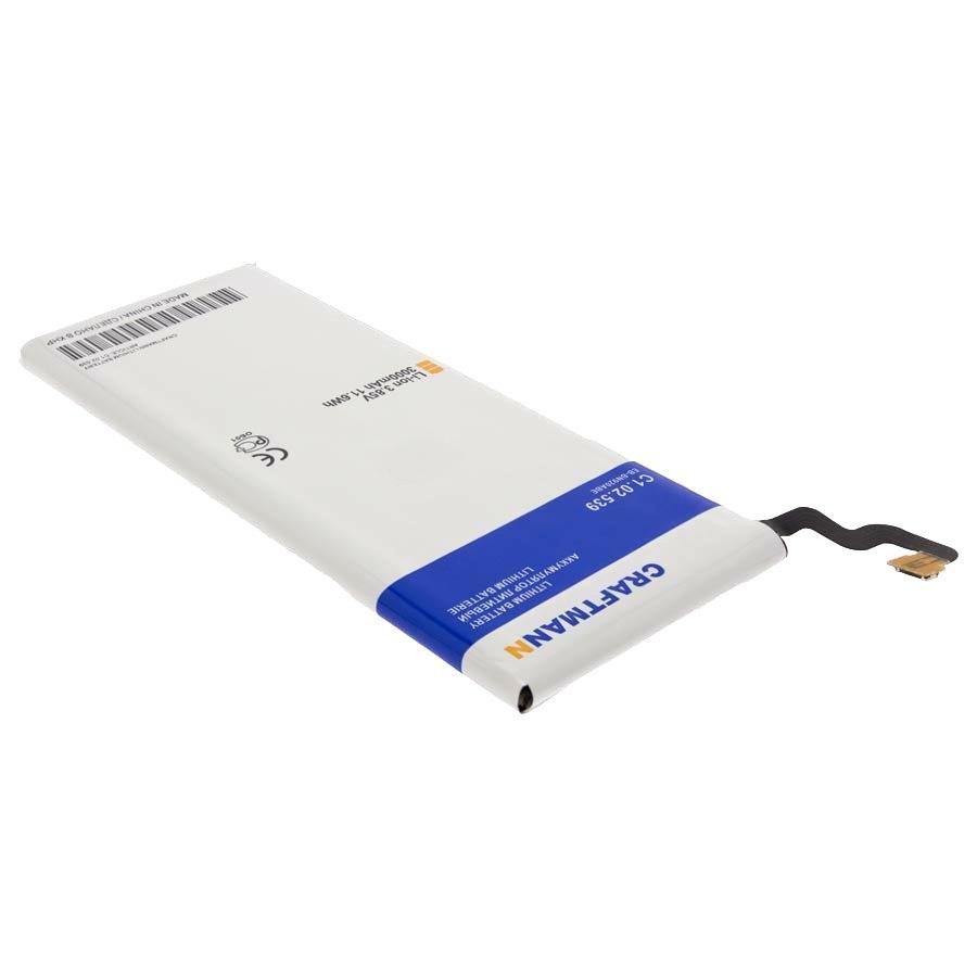 Аккумулятор для телефона Craftmann EB-BN920ABE для Samsung Galaxy Note 5 SM-N920C, SM-N9200 аккумулятор craftmann для samsung galaxy note 2 n7100 3100mah craftmann