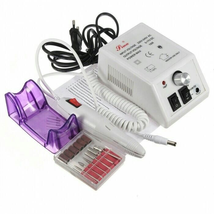 Аппарат для маникюра и педикюра Lina Mercedes 2000, белый