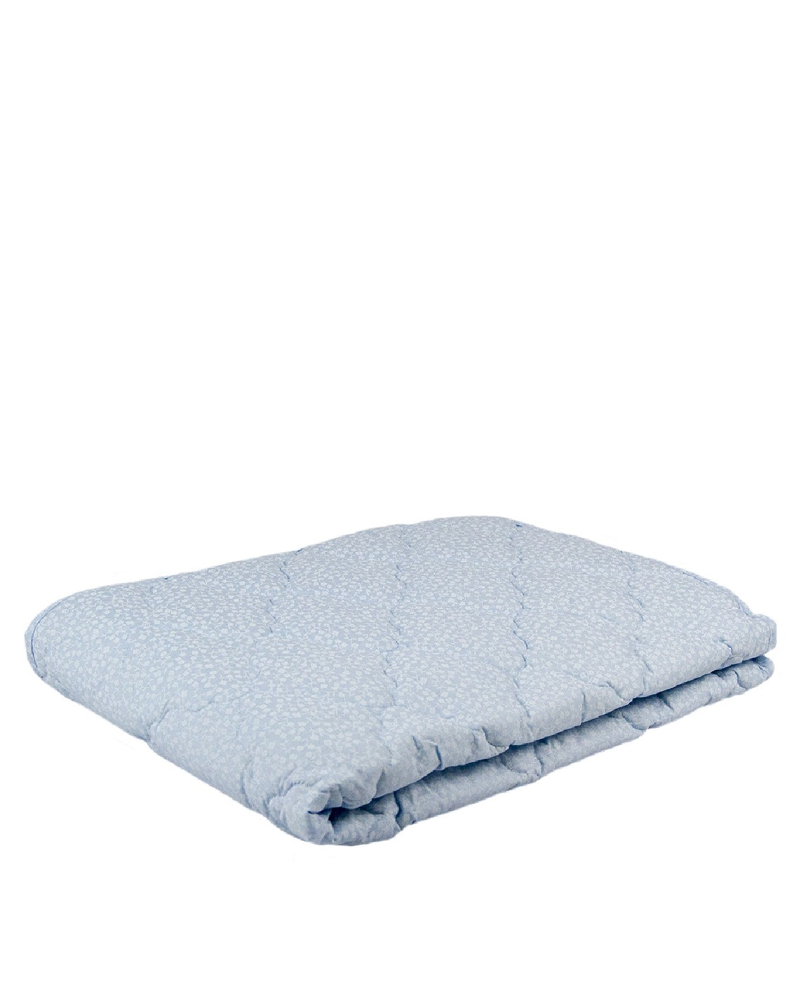 Одеяло детское ОХВ(03)-10(О)/голубой с цветочками