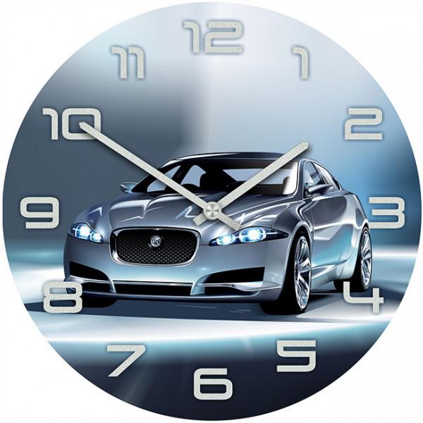 Настенные часы Kitch Clock 40015604001560Механизм: Кварцевый; Корпус: Дерево; Размер: Диаметр 40 см