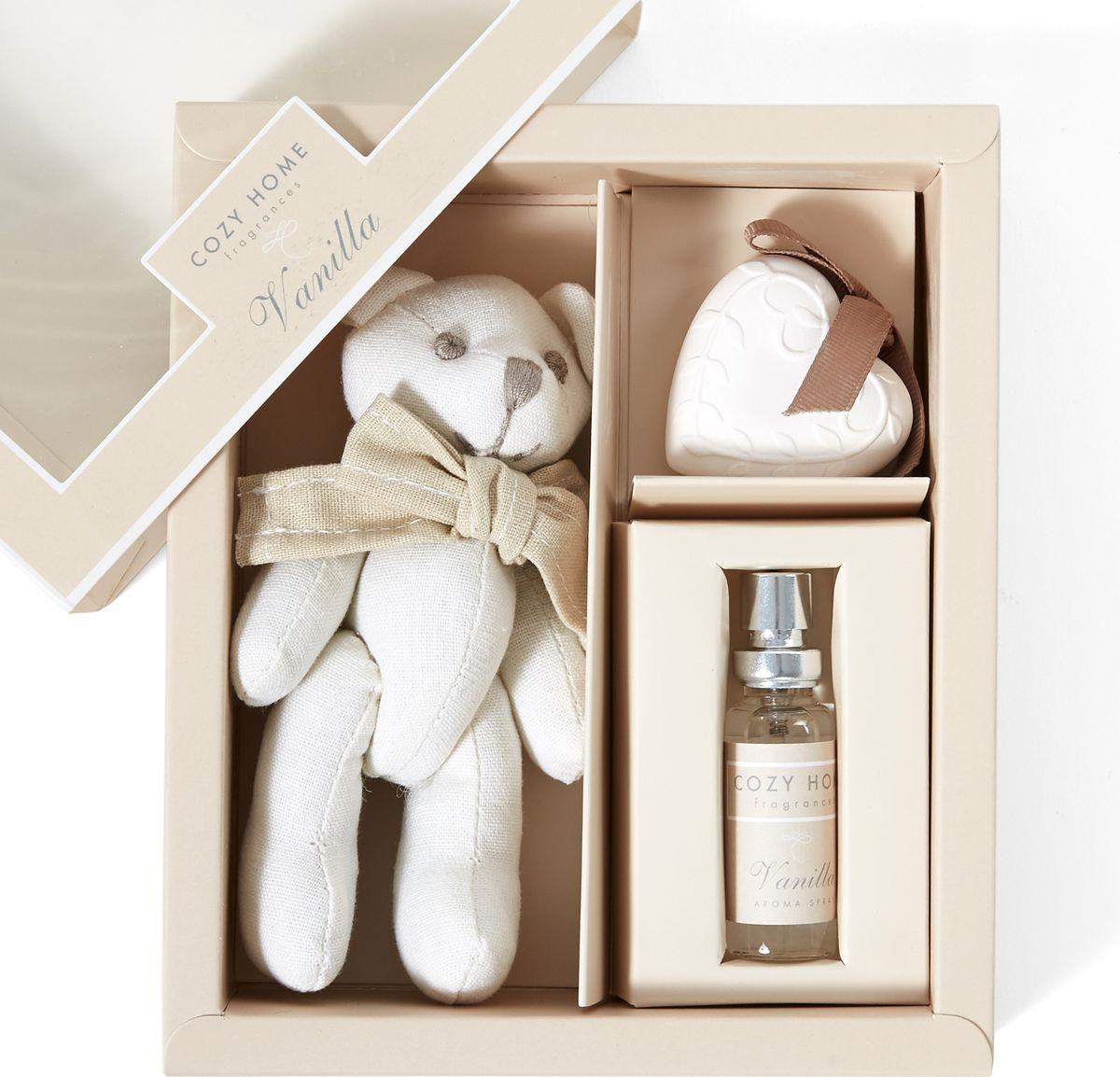 Ароматический набор Cozy Home Vanilla Спрей, 10 мл + Сувенир + Фигурка, 504954 arteast 15694 фигурка гипсовая последний звонок