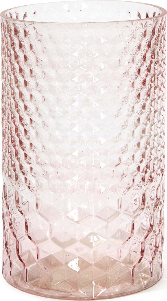 Ваза Cozy Home Dawning, 526423, розовый, 12 х 12 х 19,5 см плед детский cozy home сhicca цвет розовый 70 х 100 см
