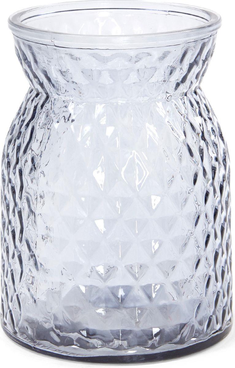 Ваза Cozy Home Grigio, 503147, серый, 10 х 10 х 15,8 см ваза керамическая 14 х 10 х 38 см