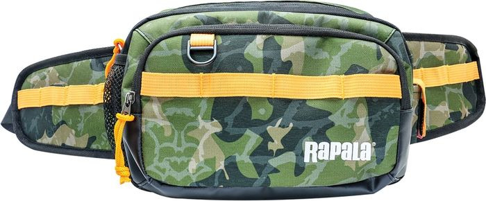 Сумка для рыбалки Rapala Jungle Hip Pack, RJUHP, зеленый