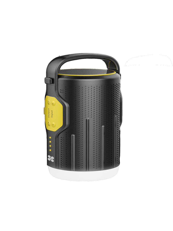 Беспроводная колонка Promate CampMate-2, черный, желтый