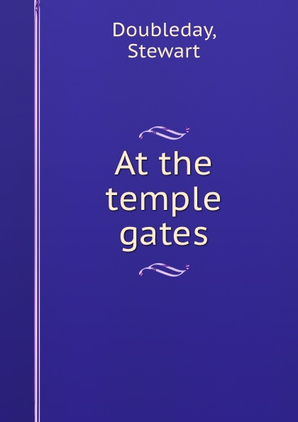 At the temple gates