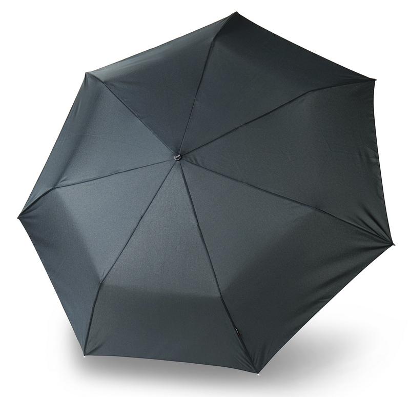Зонт Knirps Floyd Duomatic, черный knirps floyd umbrella