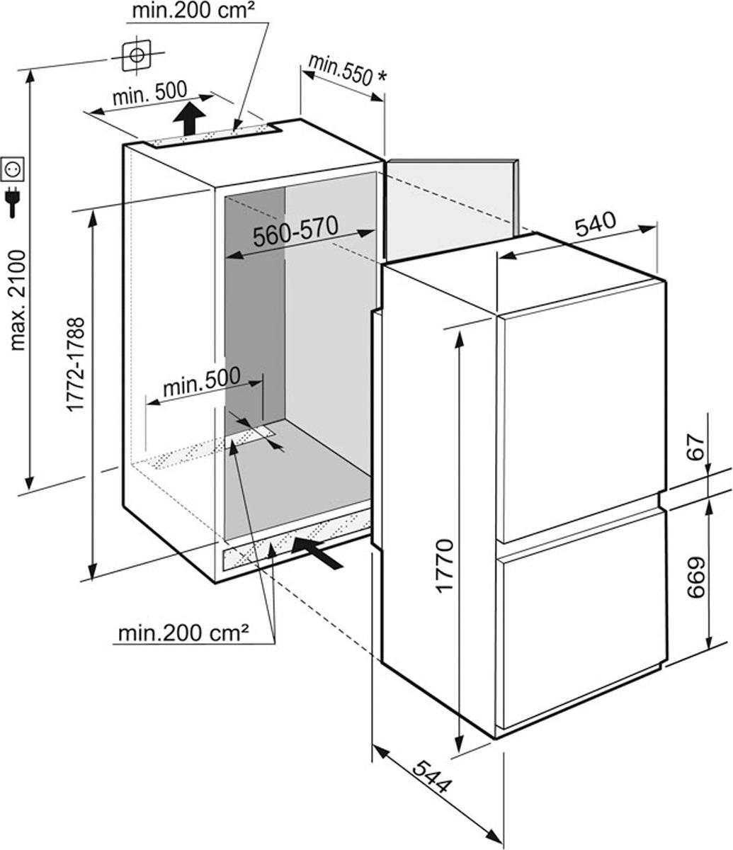 Холодильник Liebherr ICUS 3324, белый Liebherr