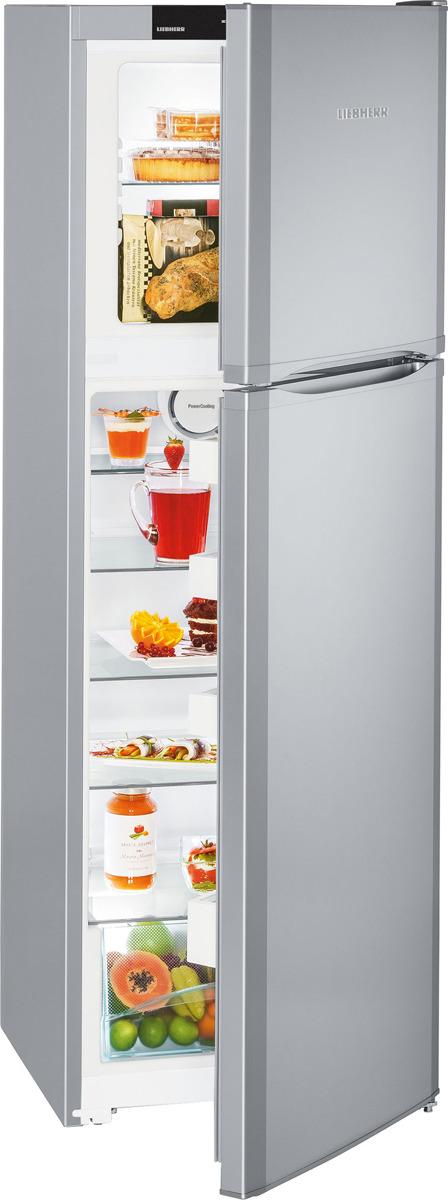Холодильник Liebherr CTsl 3306-22088, 90000006511, серебристый