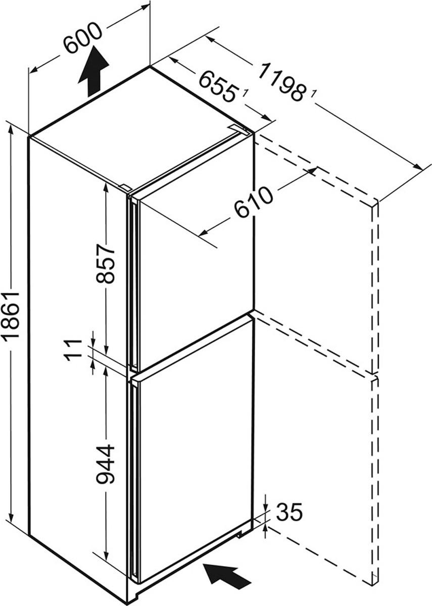 Холодильник Liebherr CNel 4213-21001, серебристый Liebherr