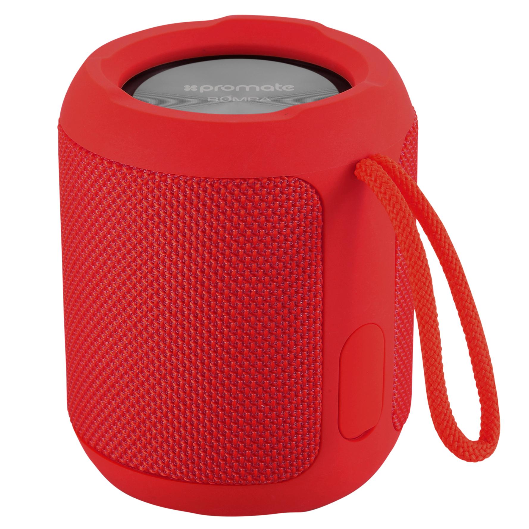 Беспроводная колонка Promate Bomba Red, красный все цены