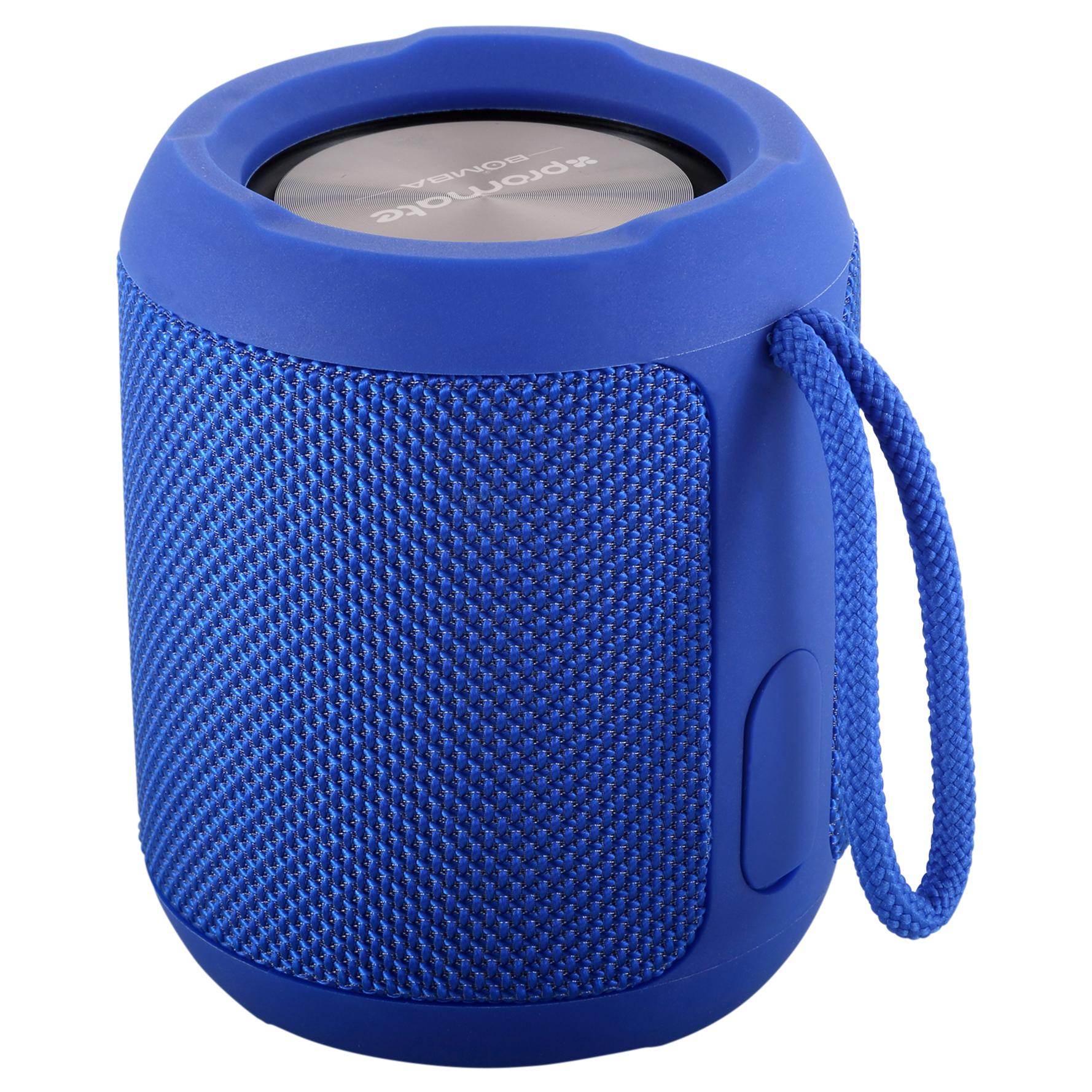 Беспроводная колонка Promate Bomba Blue, синий