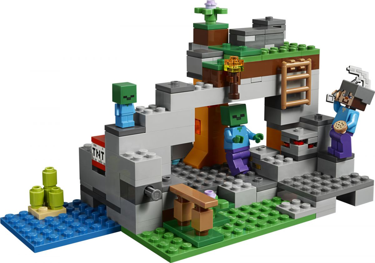 Пластиковый конструктор LEGO 21141
