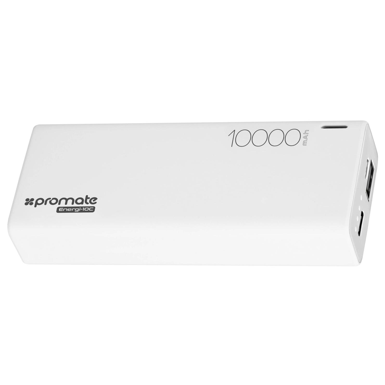 Фото - Внешний аккумулятор Promate Energi-10C White, белый аккумулятор