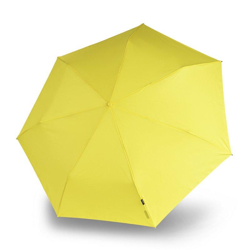 Зонт Knirps Floyd Duomatic, желтый knirps floyd umbrella