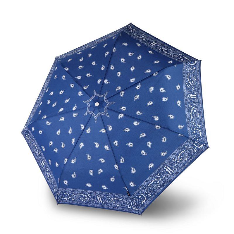 Зонт Knirps Floyd Duomatic, синий knirps floyd umbrella