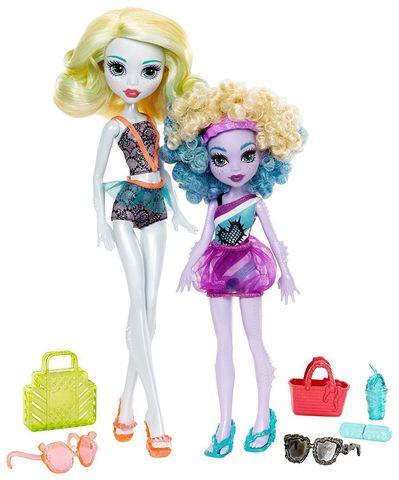цена на Игровой набор с куклой Mattel Лагуна Блю и Келпи Блю, Семейка Монстров