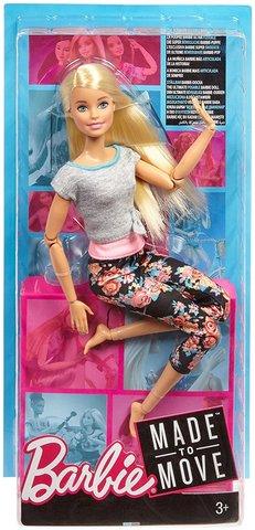 """Кукла Mattel Барби """"Йога"""" блондинка"""