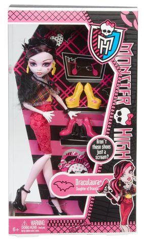 Кукла Mattel Дракулаура - Я люблю обувь (I love Shoes) цена и фото