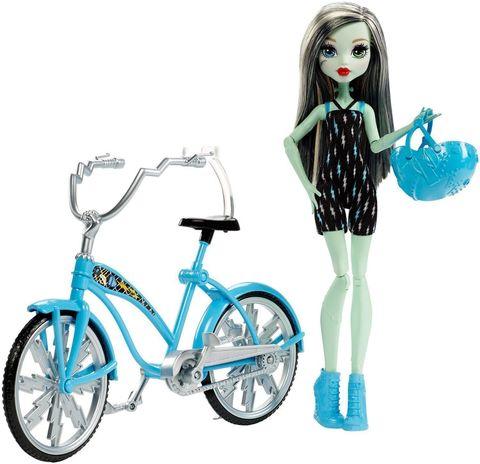 купить Игровой набор Mattel Фрэнки Штейн на велосипеде онлайн