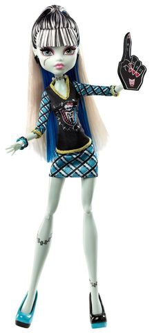 Кукла Mattel Фрэнки Штейн - Группа поддержки mattel monster high кукла призрачно clawdeen wolf