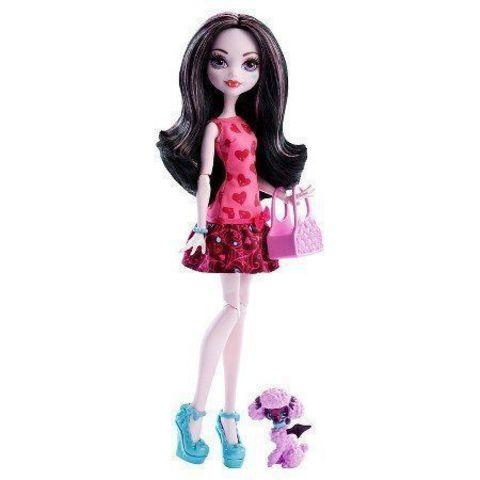 Кукла Mattel Дракулаура - с питомцем (перевыпуск) mattel monster high кукла призрачно clawdeen wolf