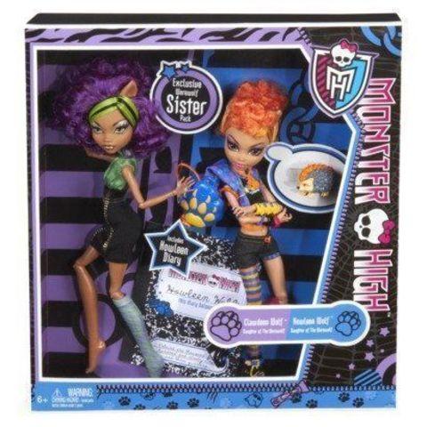 Игровой набор с куклой Mattel Клодин Вульф и Хаулин Вульф недорго, оригинальная цена