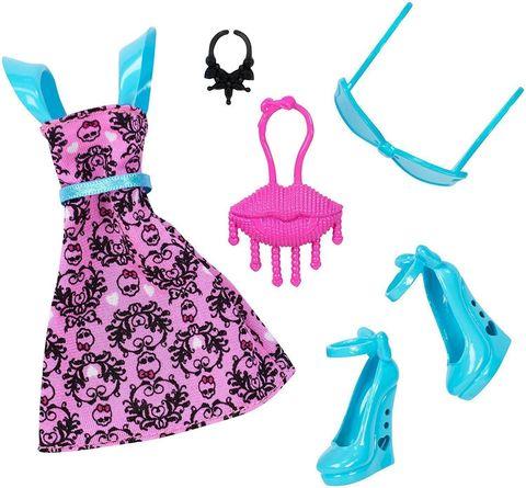 Одежда для кукол Mattel куклы Дракулаура папка уголок hatber monster high дракулаура цвет черный розовый формат а4