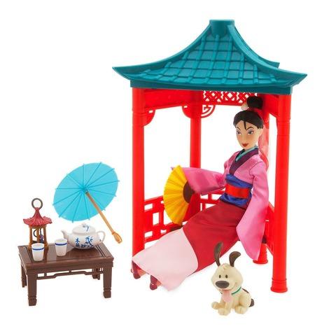 Игровой набор Disney Мулан Чайная церемония, Дисней платье мулан disney m